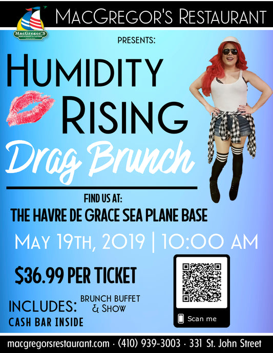 Humidity Rising Drag Brunch & Show