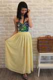 Mabel Maxi Skirt in Dainty Yellow - Mint Ooak - Skirt - 2