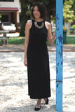 Ann Classic Maxi in Black - Mint Ooak - Dress - 1