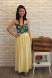 Mabel Maxi Skirt in Dainty Yellow - Mint Ooak - Skirt - 3