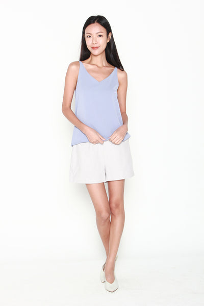 Giselle 2 Way Top in Powder Blue