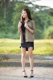 Hannah Military Shirt in khaki - Mint Ooak - Top - 3