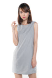 Lydia Classic Pocket Shift In Heather Grey - Mint Ooak - Dress - 2