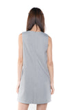 Lydia Classic Pocket Shift In Heather Grey - Mint Ooak - Dress - 5