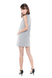 Lydia Classic Pocket Shift In Heather Grey - Mint Ooak - Dress - 6
