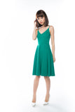 Ella Spag Midi in Green - Mint Ooak - Dress - 3