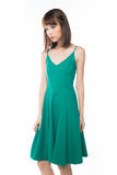 Ella Spag Midi in Green - Mint Ooak - Dress - 2