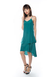 Kane Tiered Free Flow Dress in Green - Mint Ooak - Dress - 2