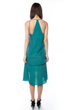 Kane Tiered Free Flow Dress in Green - Mint Ooak - Dress - 3