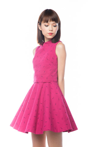 Fay 3 way Cheongsam Dress in Pink - Mint Ooak - Dress - 1
