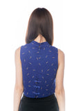 Fay 3 way Cheongsam Dress in Blue - Mint Ooak - Dress - 8