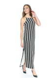 Irina Stripes Maxi - Mint Ooak - Dress - 1