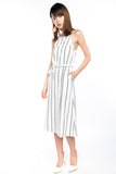 Fye Stripes Sash midi