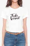 Take Heart T-Shirt in White