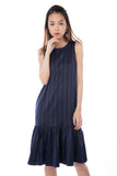 Julia Swing Mermaid in Navy Stripes