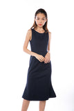 Cassandra Fish Tail Mermaid in Navy