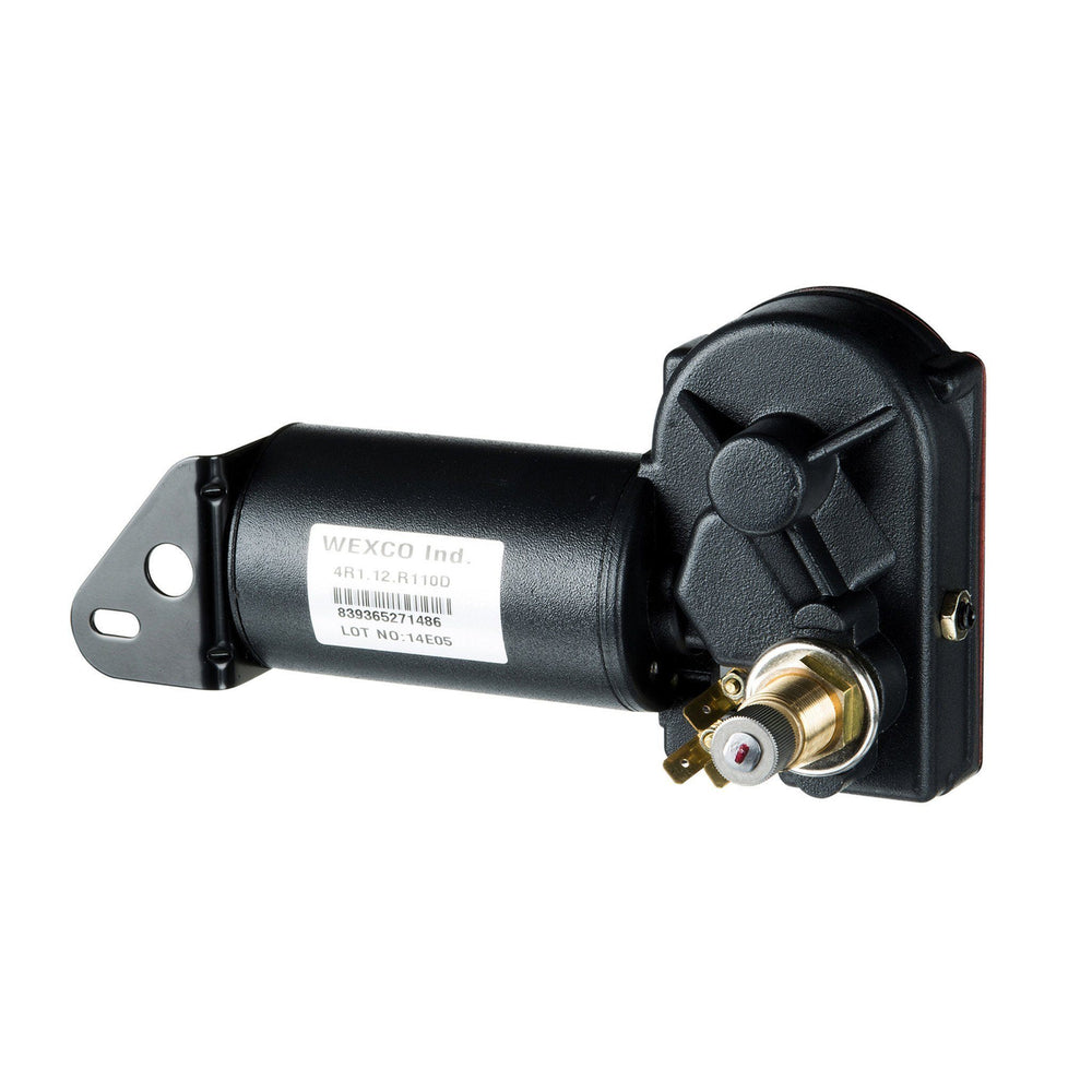 "4R2.12-19S2.R110D - Two and a half inch (2.5"") shaft, 12V With Two-Speed Switch Installed"