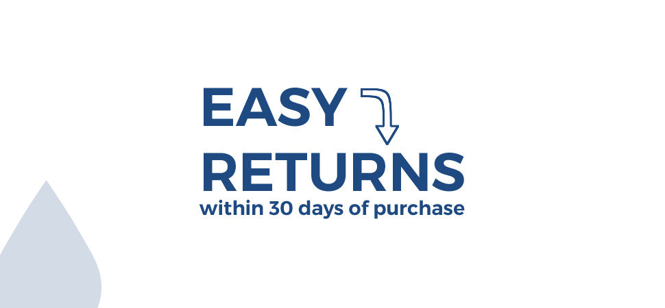 Easy Returns within 30 Days