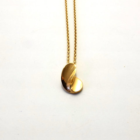 Eternity pendant in gold