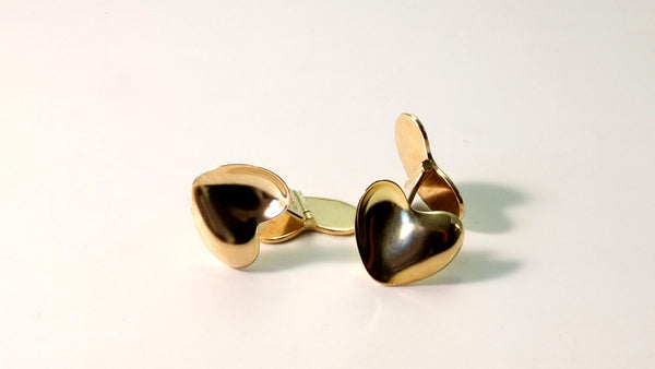 Halfhearted cufflinks