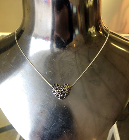 Heart by Heart silver necklace