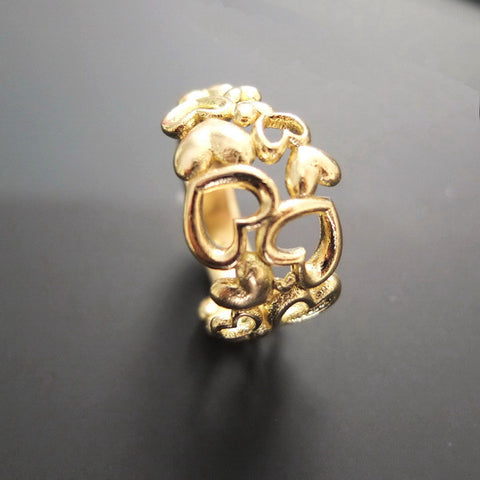 Heart by Heart ring in gold