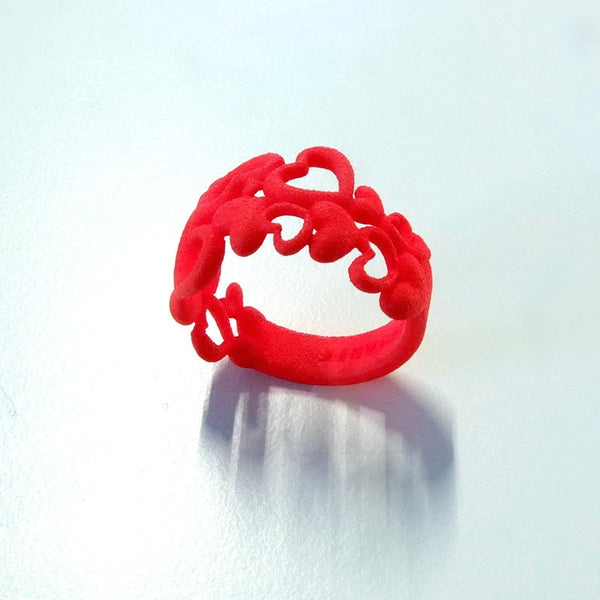Heart by Heart ring in nylon