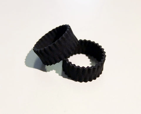 Pleats ring in nylon