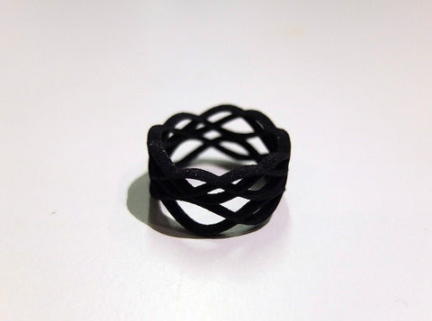 Skater's Waltz ring in colorful nylon