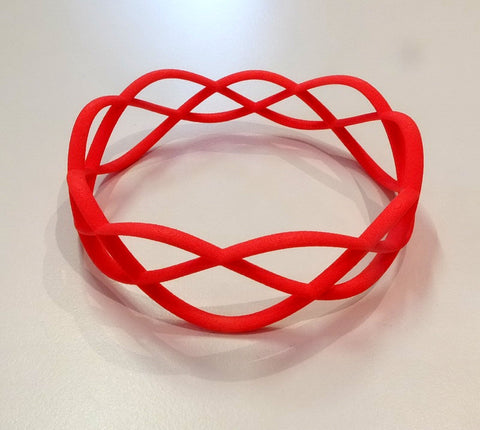 Thin Skater's Waltz bracelet in nylon