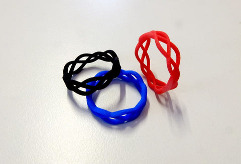 Thin Skater's Waltz ring in nylon