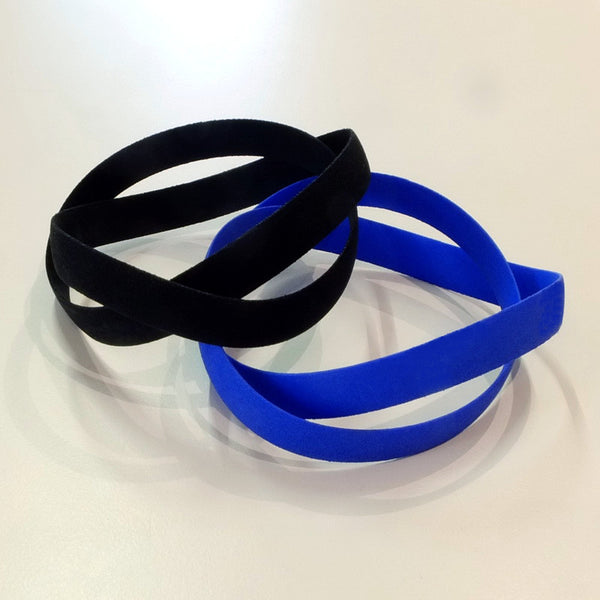 Thin Double Swing bracelet in nylon