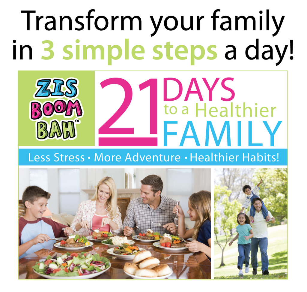 21 Days to a Healthier Family! Digital Book