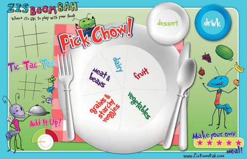Pick Chow Plate Placemat
