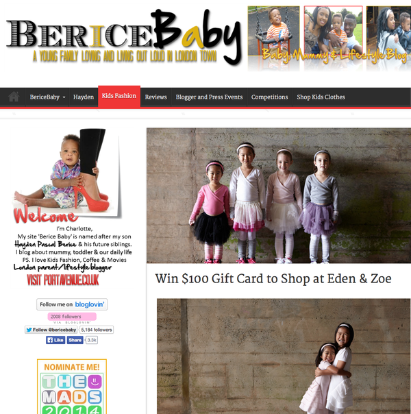 Berice Baby - Giveaway