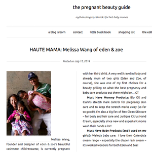 The Pregnant Beauty Guide