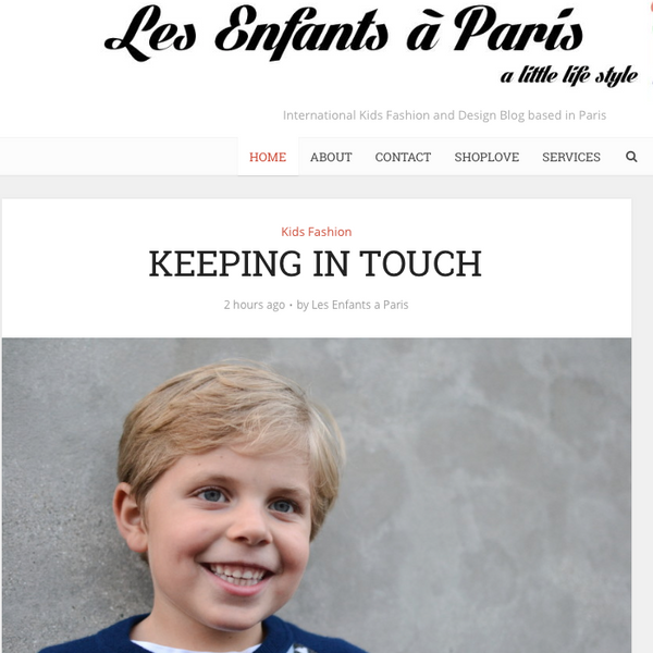 Les Enfants à Paris - Keeping in touch