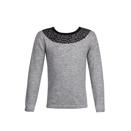 Gwen lace pullover