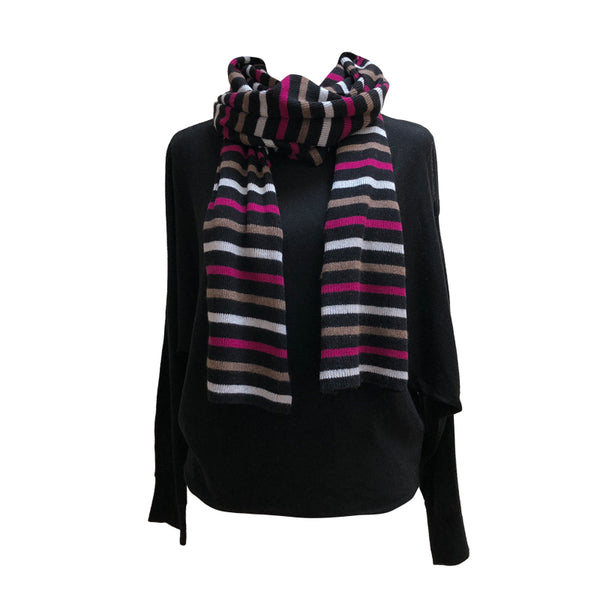 Knitted Cashmere Scarf - Large
