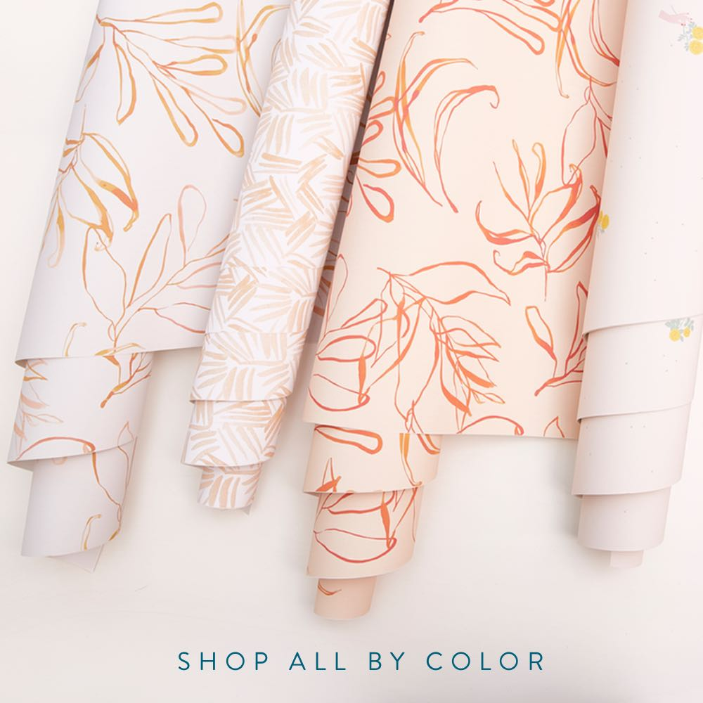 Chasing Paper is Beautiful, High-Quality Removable Wallpaper + Wall Decor.