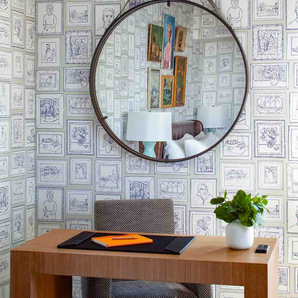 Removable Wallpaper Chasing Paper