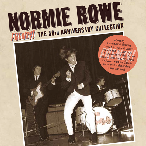 Normie Rowe FRENZY! The 50th Anniversary Collection