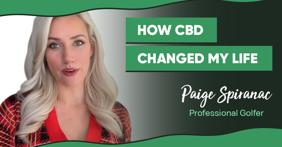 Paige Spiranac—a Professional Golfer—Shares How CBD Changed Her Life