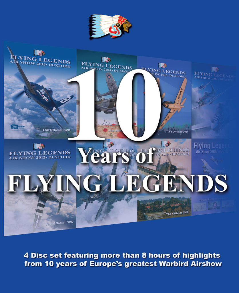 """Ten Years of Flying Legends"" Blu-ray"