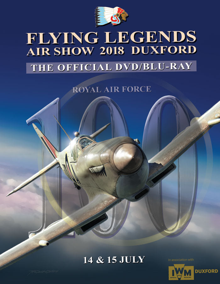 Flying Legends Airshow 2018 Blu-ray