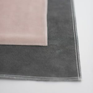 Suede Styling Mat Collection + Travel Case
