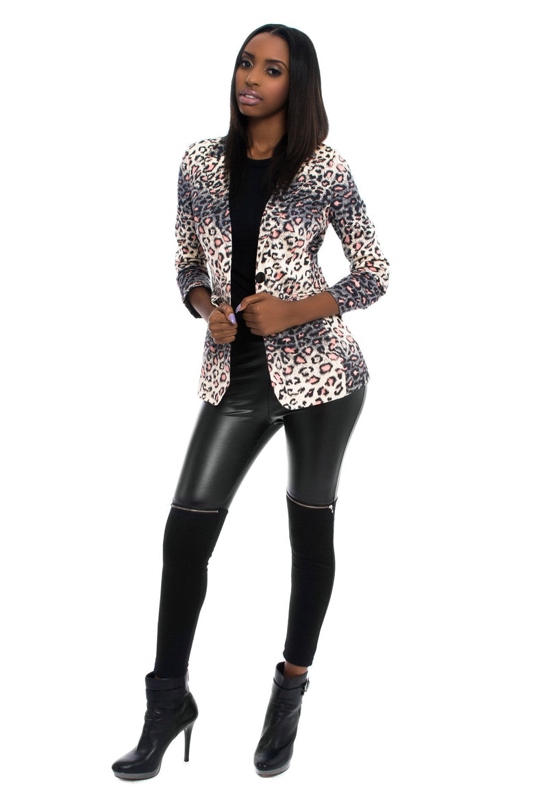 blazers for women, suit jackets, leopard print coat, leopard print jacket, casual wear for women, business clothes for women, boutiques in lawrenceville, unique jackets for women
