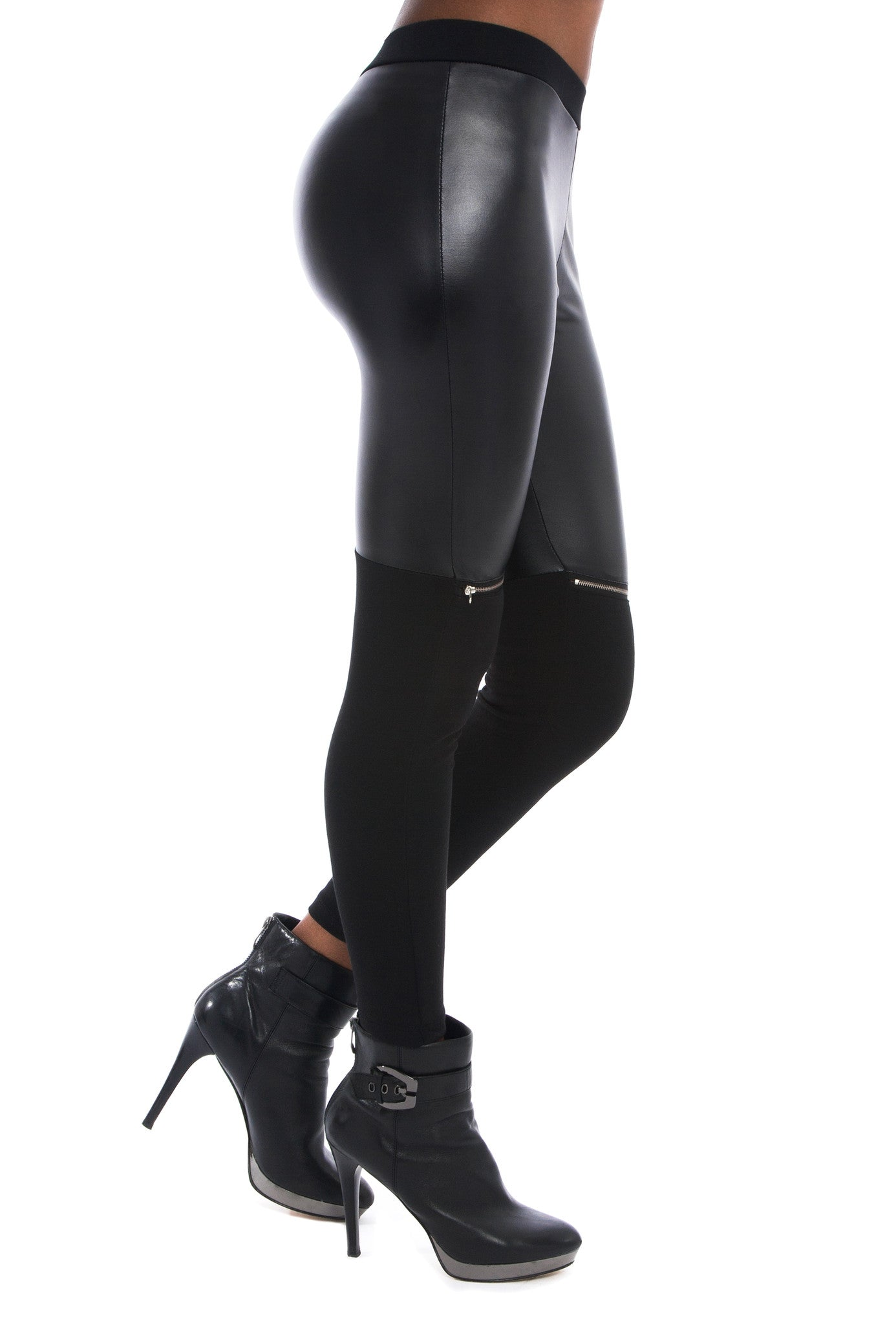 ZIP ME OFF LEATHER LEGGINGS