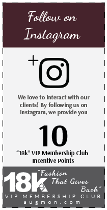Get 10 18k VIP Membership Club Incentive Points card for following us on Instagram.
