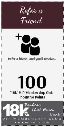 Get 100 18k VIP Membership Club Incentive Points card for referring a friend.
